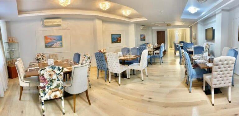 מסעדת מוישה הבשרית במרכז בוקרשט
